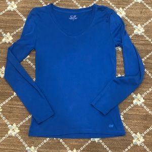 Vineyard Vines long sleeve blue shirt